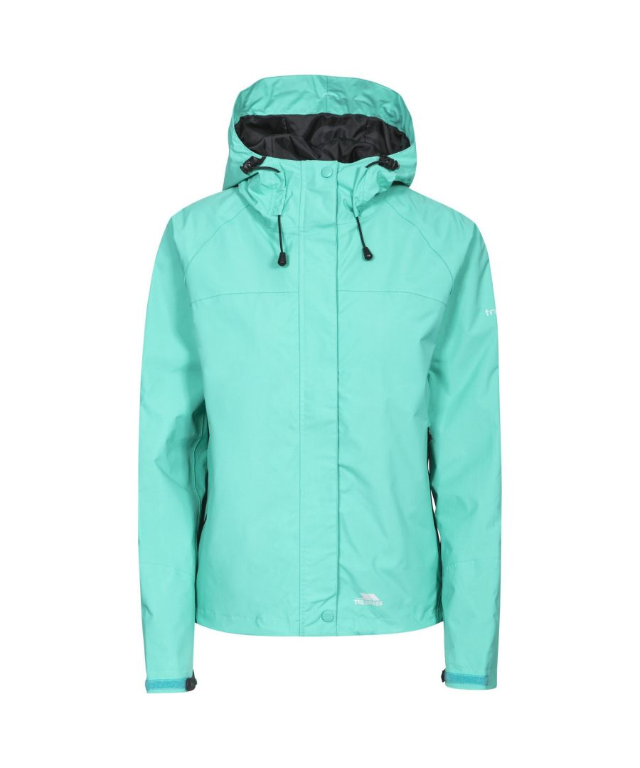 Image for Trespass Womens/Ladies Miyake Hooded Waterproof Jacket