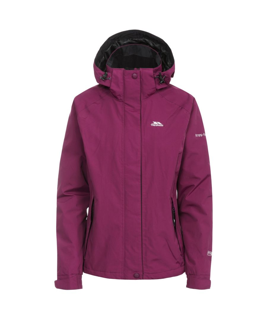 Image for Trespass Womens/Ladies Florissant Hooded Waterproof Jacket