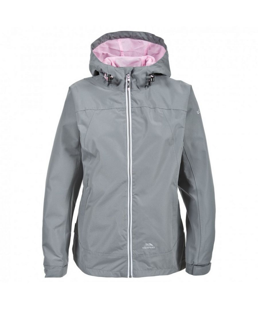 Image for Trespass Womens/Ladies Verto Waterproof Jacket (Smoke)