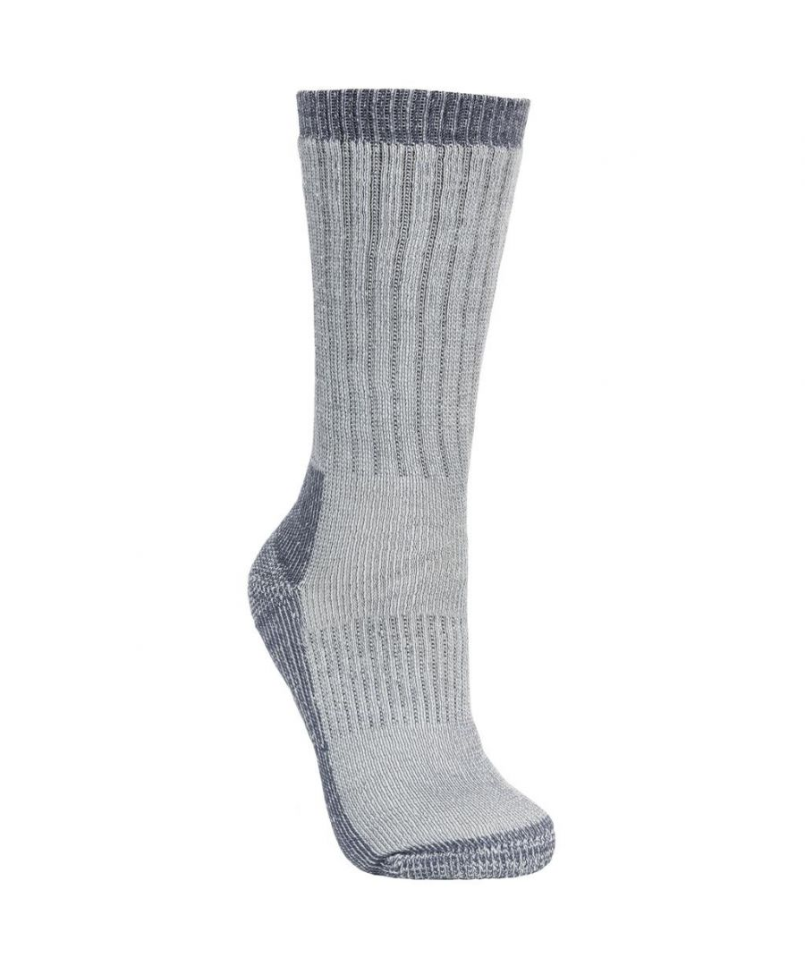 Image for Trespass Womens/Ladies Springer Hiking Boot Socks (1 Pair) (Heather)