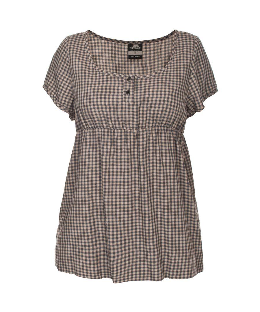 Image for Trespass Womens/Ladies Zirra Short Sleeve Casual Top