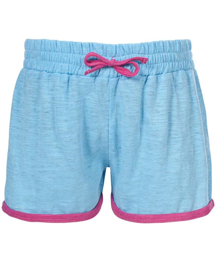 Image for Trespass Childrens Girls Sunnyday Shorts (Sky Blue)