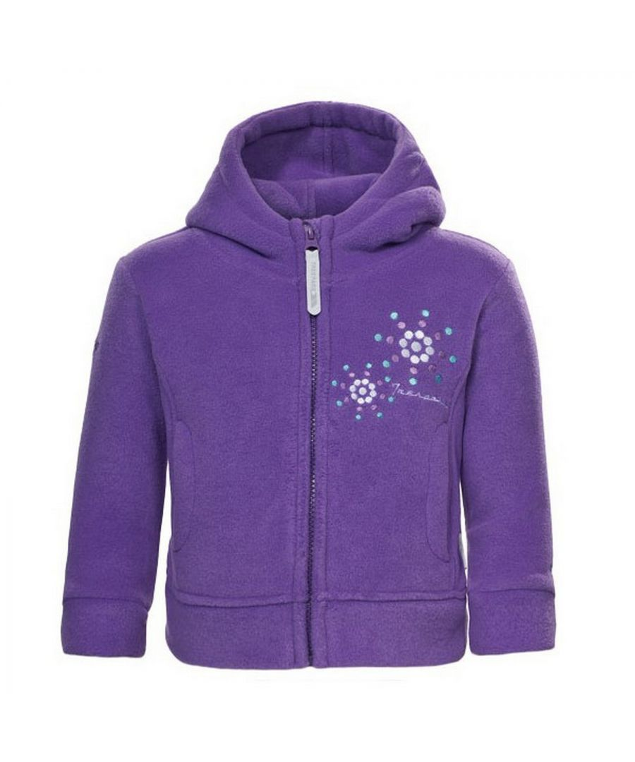 Image for Trespass Baby Girl Shakira Full Zip Fleece Jacket Purple