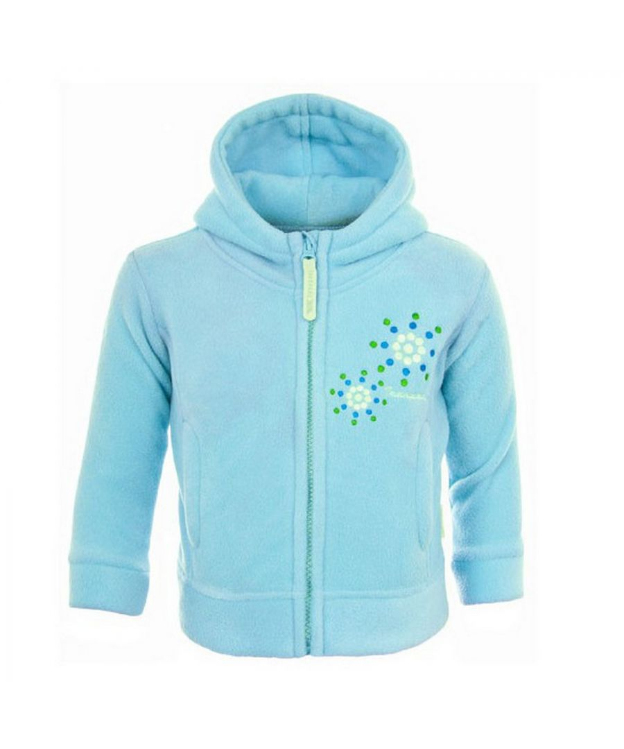 Image for Trespass Baby Girl Shakira Full Zip Fleece Jacket Blue