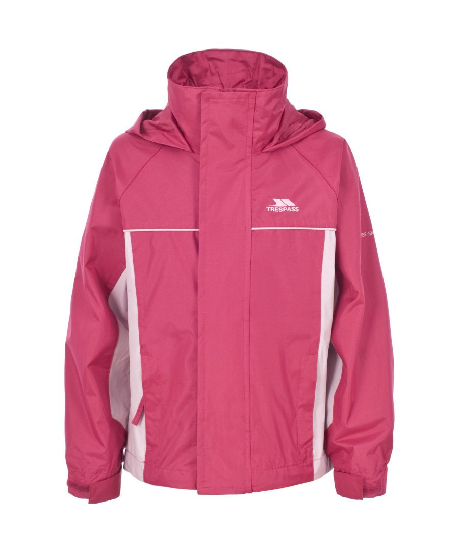 Image for Trespass Childrens Girls Sooki Hooded Waterproof Jacket/Coat