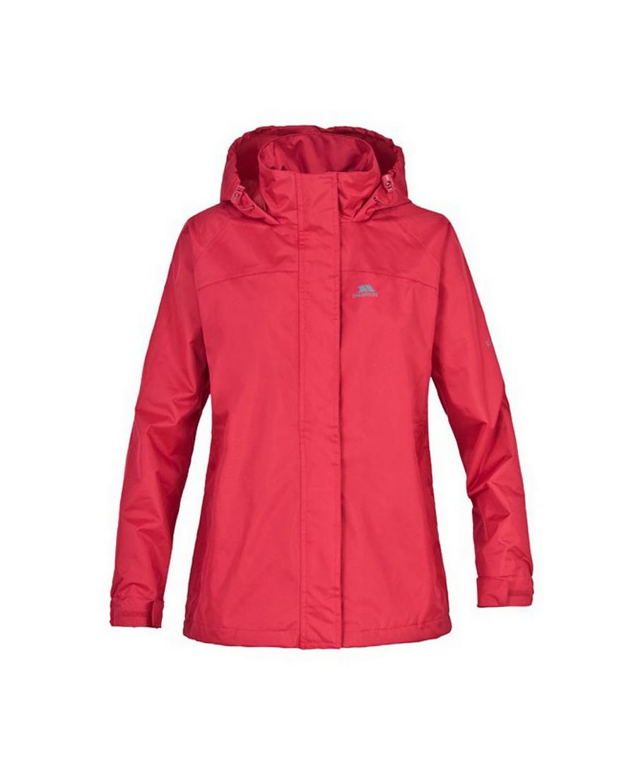 Image for Trespass Childrens Girls Nasu Hooded Waterproof Jacket/Coat