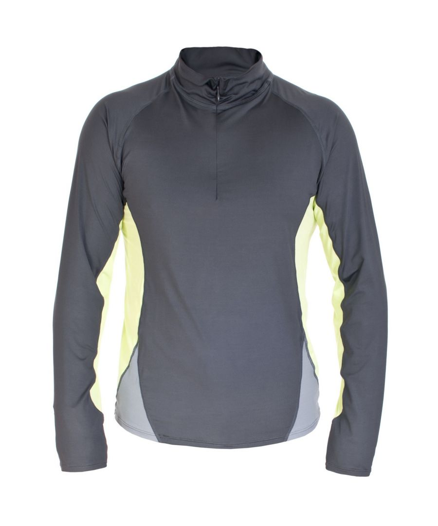 Image for Trespass Mens Wrestle Active Base Layer Top (Flint)
