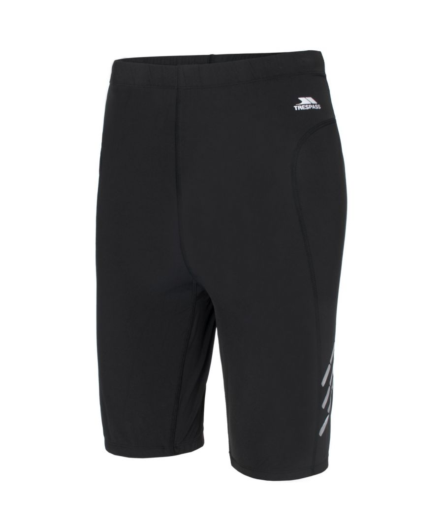 Image for Trespass Mens Crawl Athletic Sport Base Layer Shorts