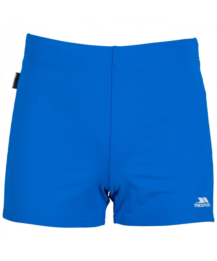 Image for Trespass Mens Exerted Contrast Panel Swim Shorts