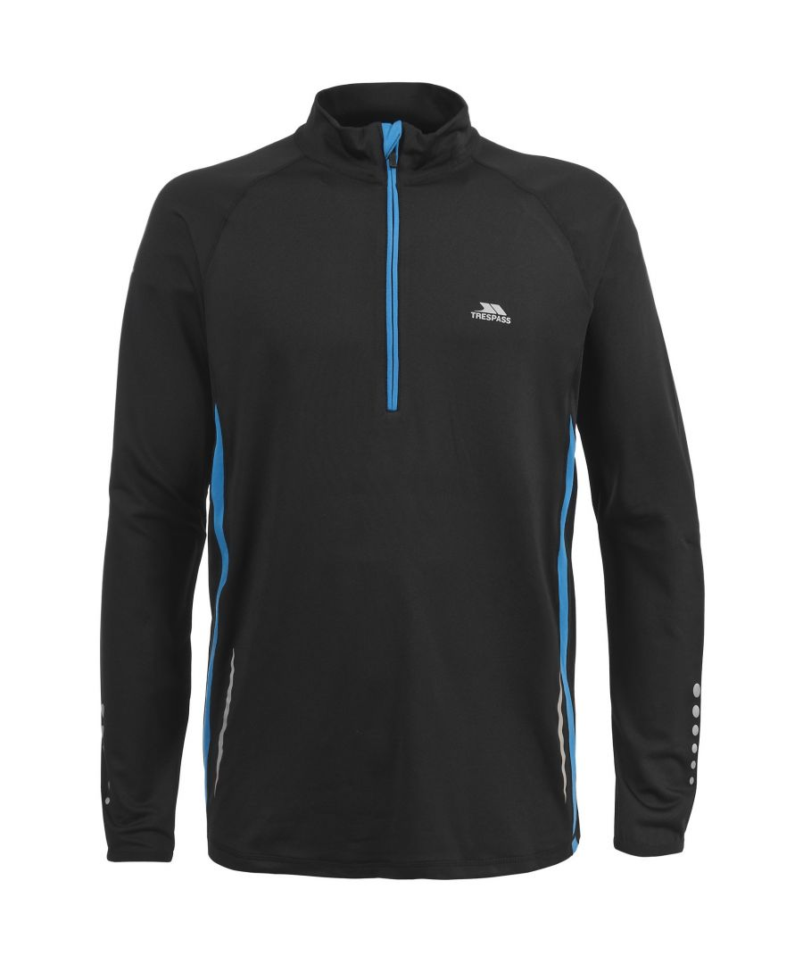 Image for Trespass Mens Keenan Long Sleeve Athletic Top