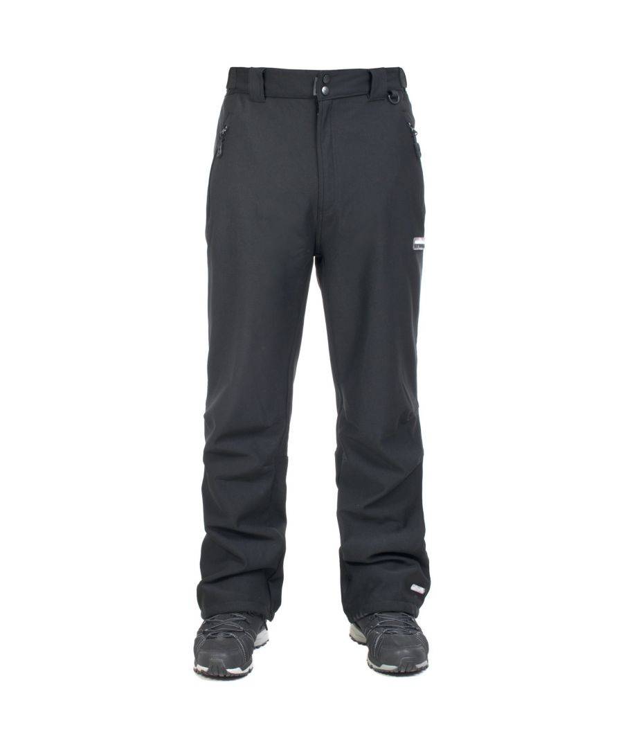 Image for Trespass Mens Hemic Water Resistant Softshell Trousers