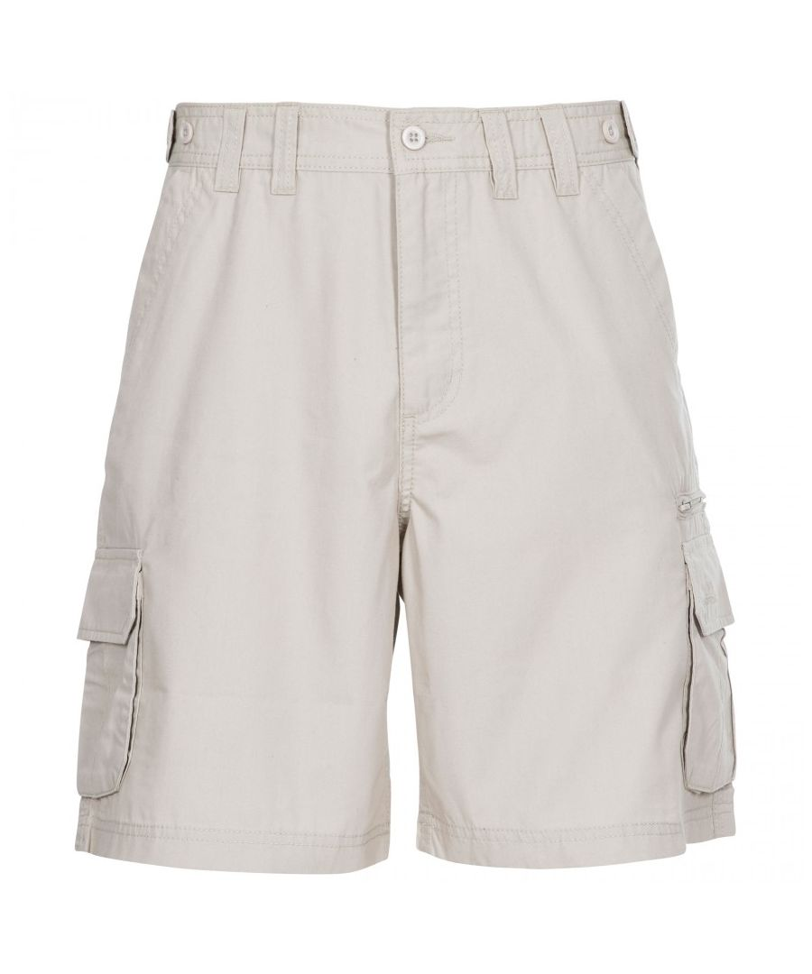 Image for Trespass Mens Gally Water Repellent Hiking Cargo Shorts