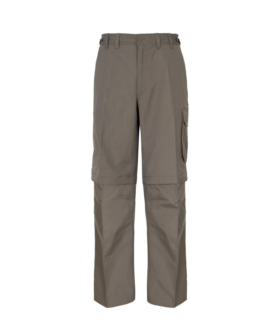 Image for Trespass Mens Mallik Convertible Water Repellent Cargo Trousers