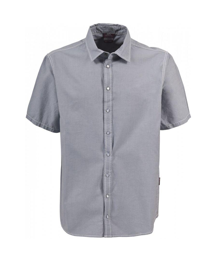 Image for Trespass Mens Luke Short Sleeve Casual Shirt