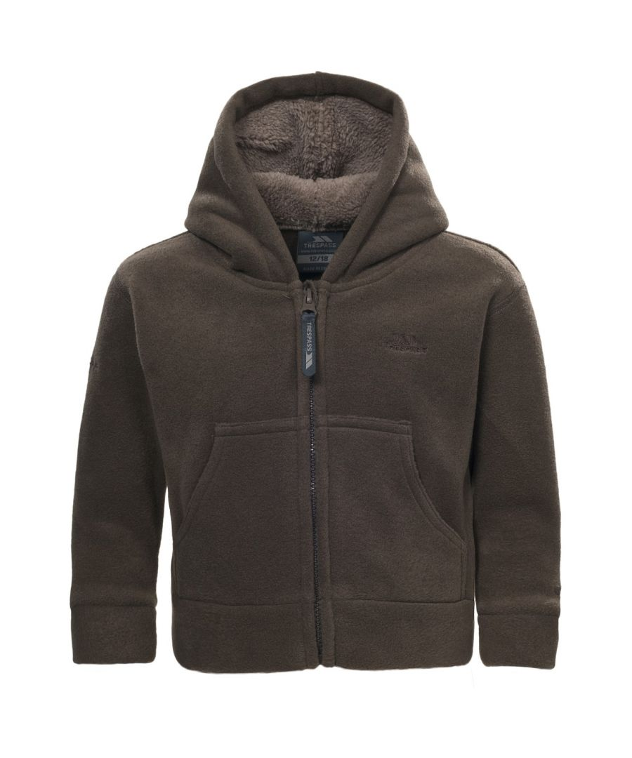 Image for Trespass Baby Boys Alejandro Full Zip Fleece Jacket