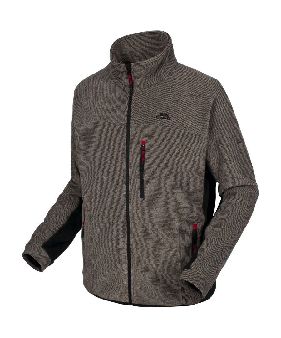 Image for Trespass Mens Jynx Full Zip Fleece Jacket