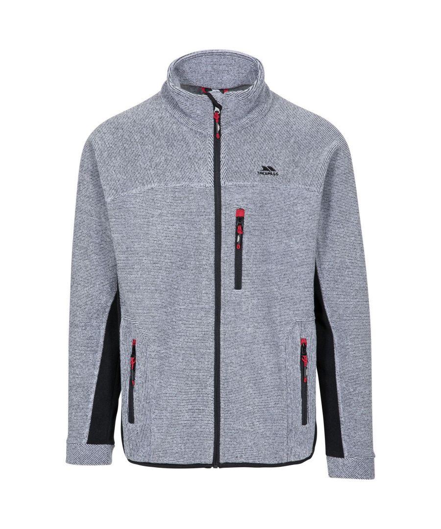 Image for Trespass Mens Jynx Full Zip Fleece Jacket