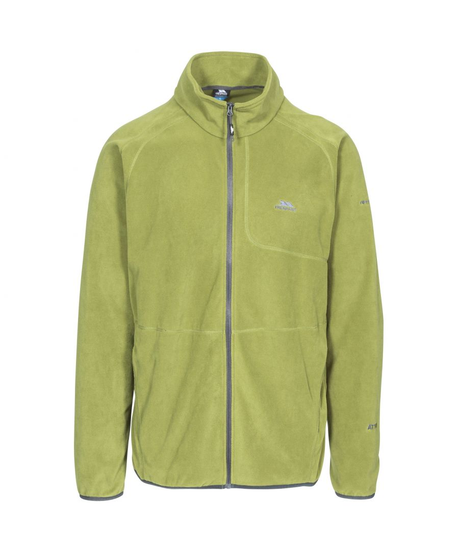 Image for Trespass Mens Gladstone Full Zip Fleece Jacket (Cedar)