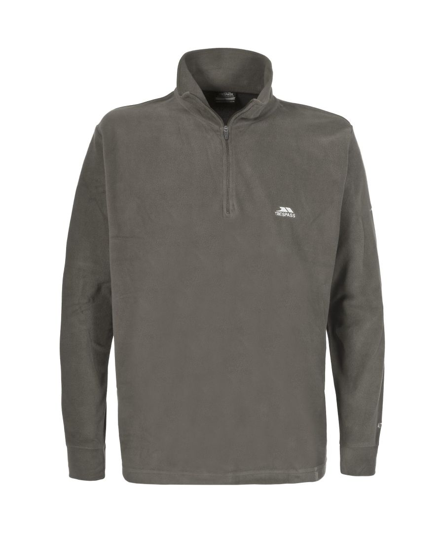 Image for Trespass Mens Masonville Half Zip Microfleece Top