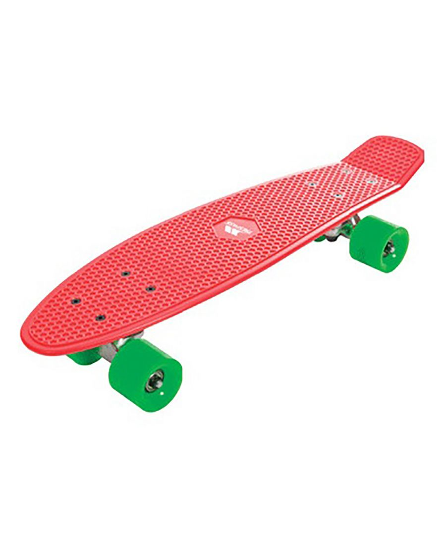 Image for Trespass Concretebeat Retro Skateboard (Blood Red)