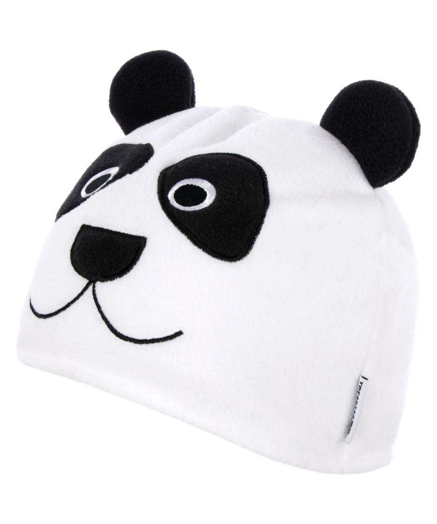 Image for Trespass Childrens/Kids Bamboo Panda Design Beanie Hat