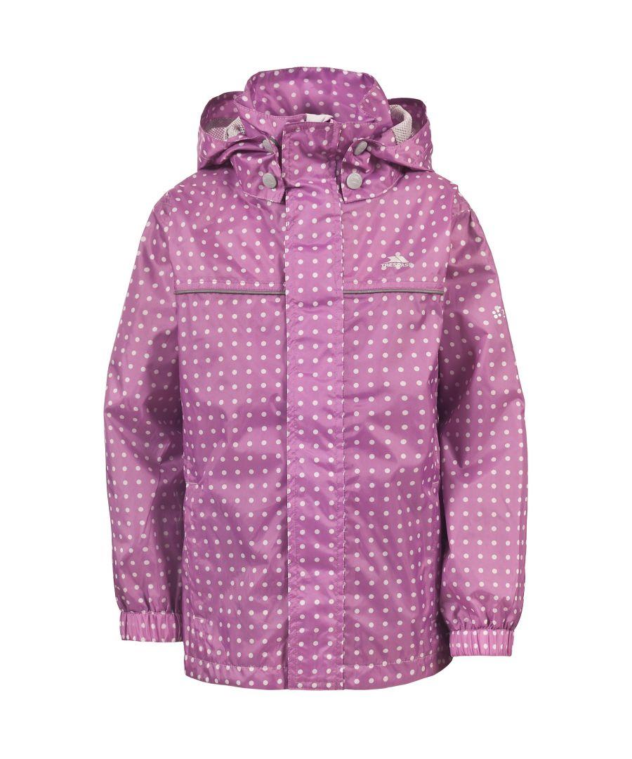 Image for Trespass Childrens Unisex Enjoy Zip Up Waterproof Jacket