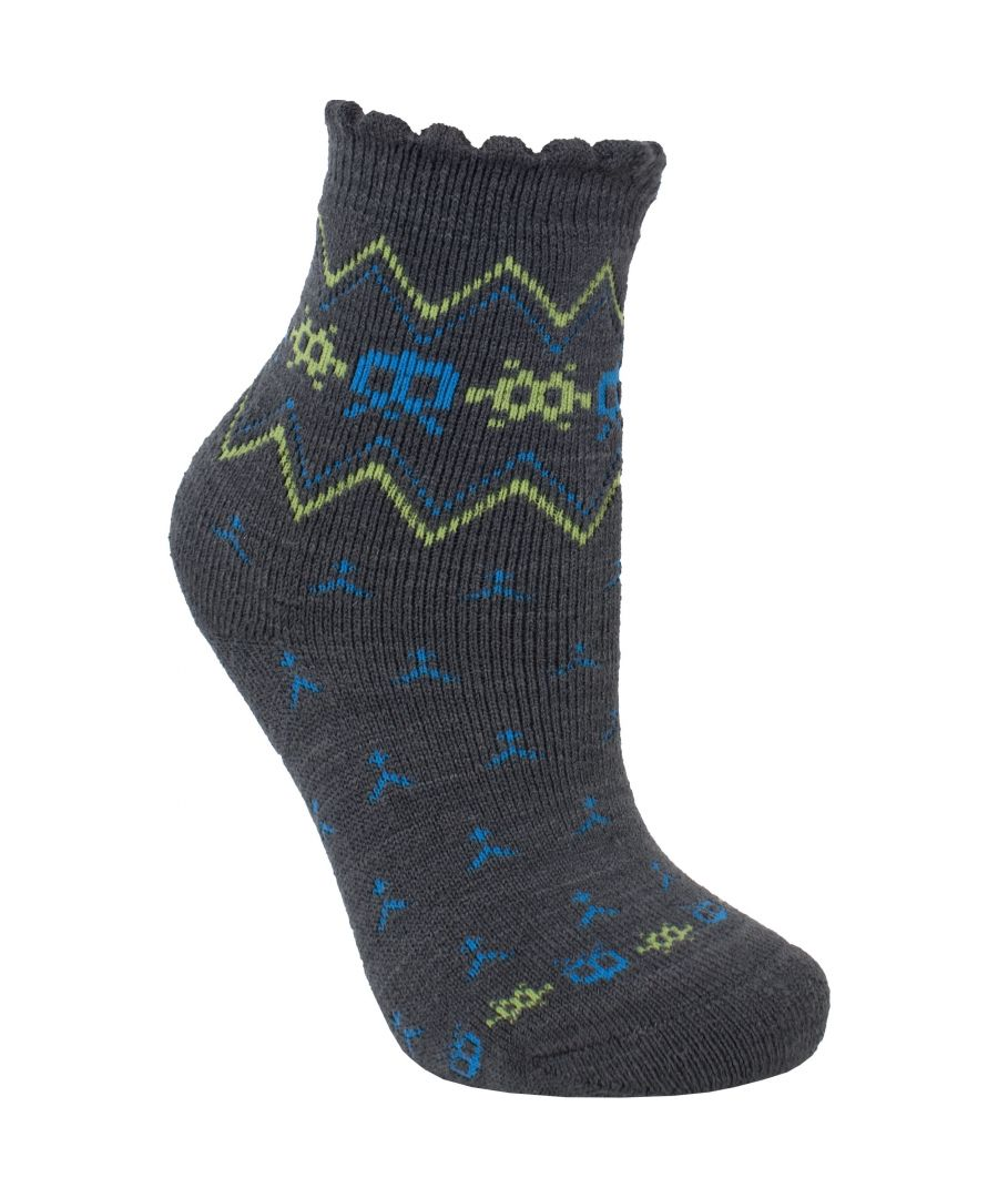 Image for Trespass Childrens/Kids Twitcher Patterned Socks