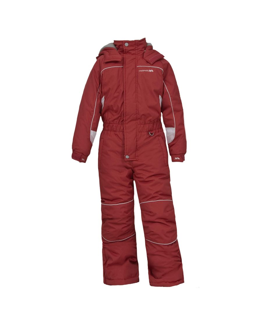 Image for Trespass Childrens Unisex Laguna Zip Up All In One Ski Suit