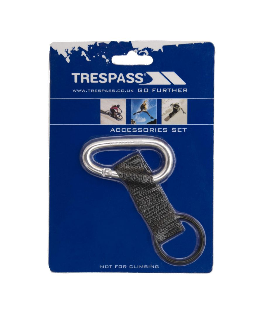 Image for Trespass Affix 6mm Carabineer With Strap And Rubber Ring