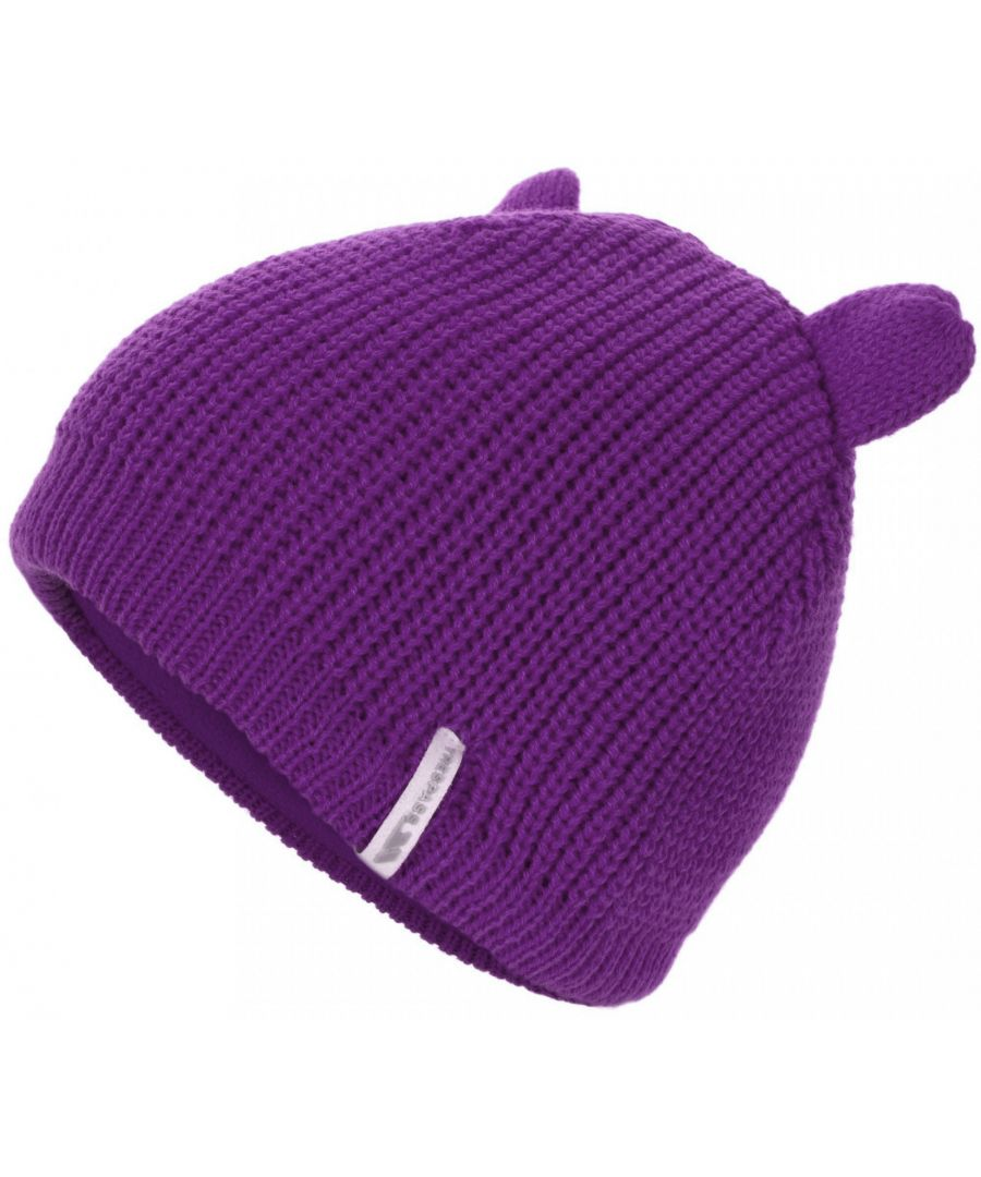 Image for Trespass Childrens/Kids Toot Knitted Winter Beanie Hat