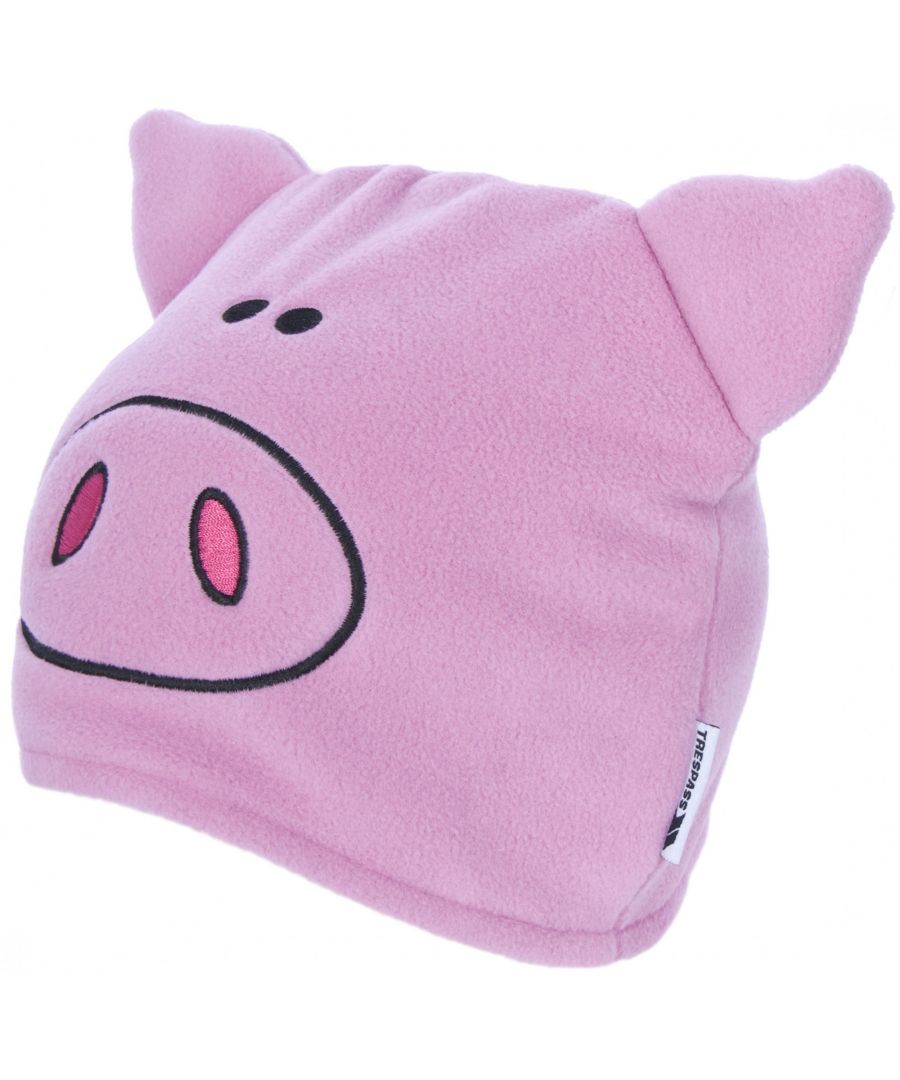 Image for Trespass Childrens/Kids Oinky Pig Beanie Hat