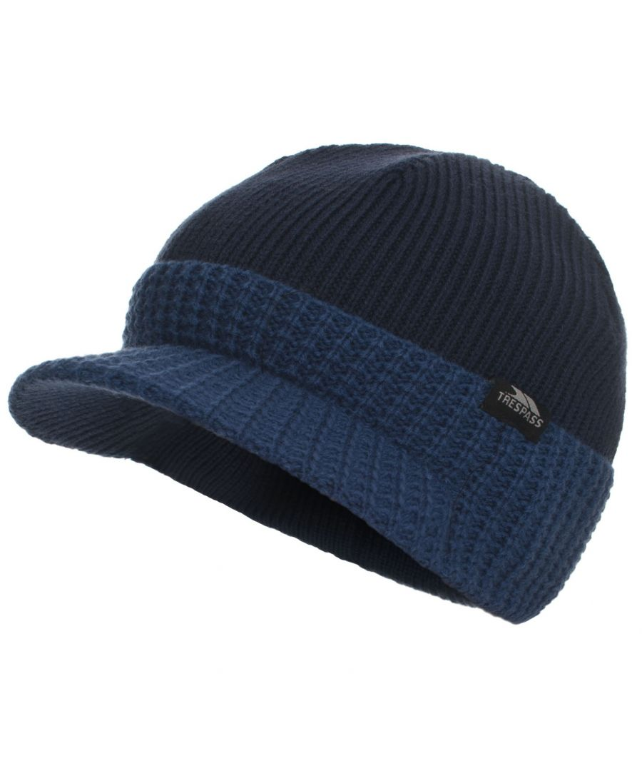 Image for Trespass Childrens Boys Clinton Peaked Beanie Hat