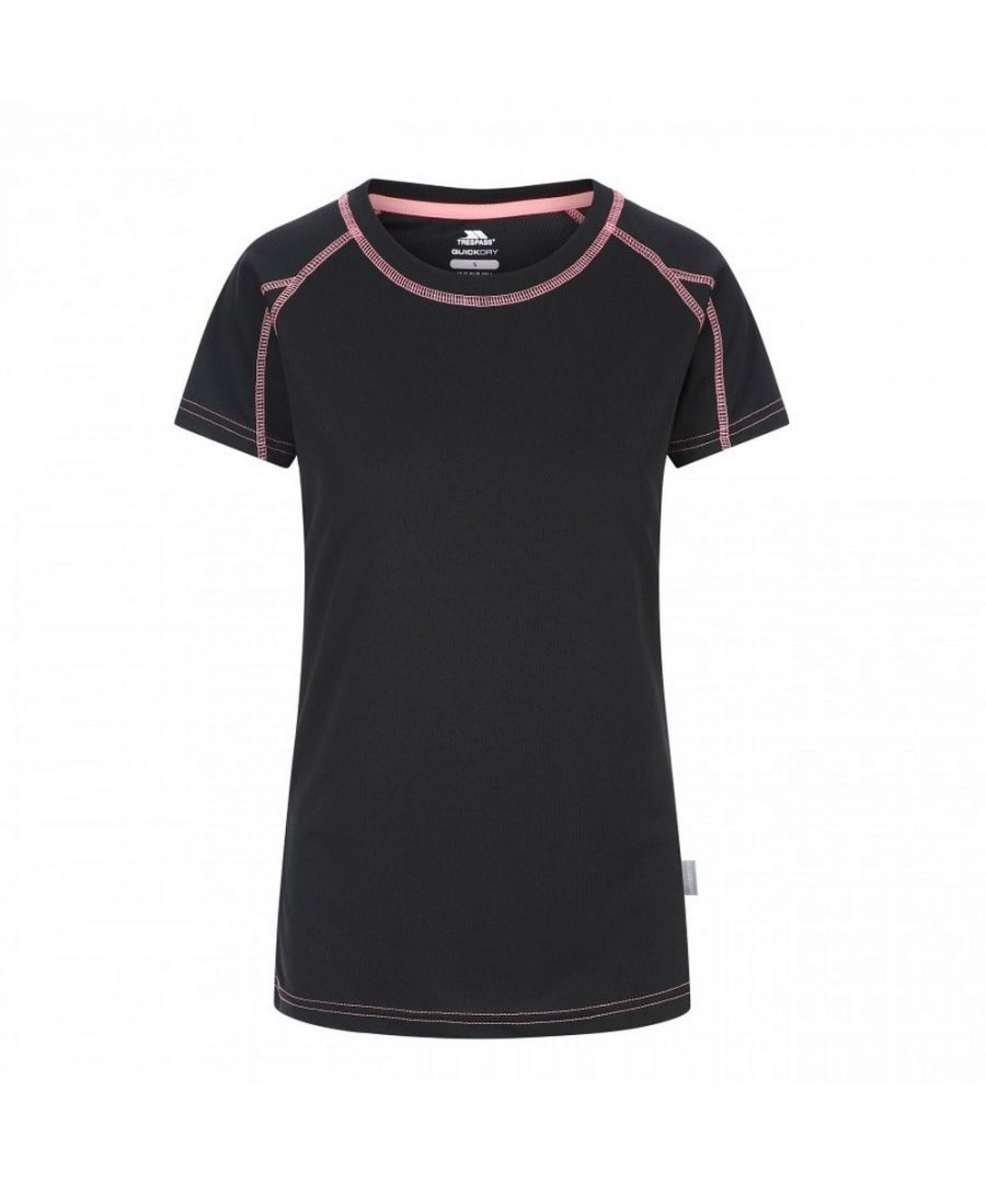 Image for Trespass Womens/Ladies Mamo Short Sleeve Active T-Shirt