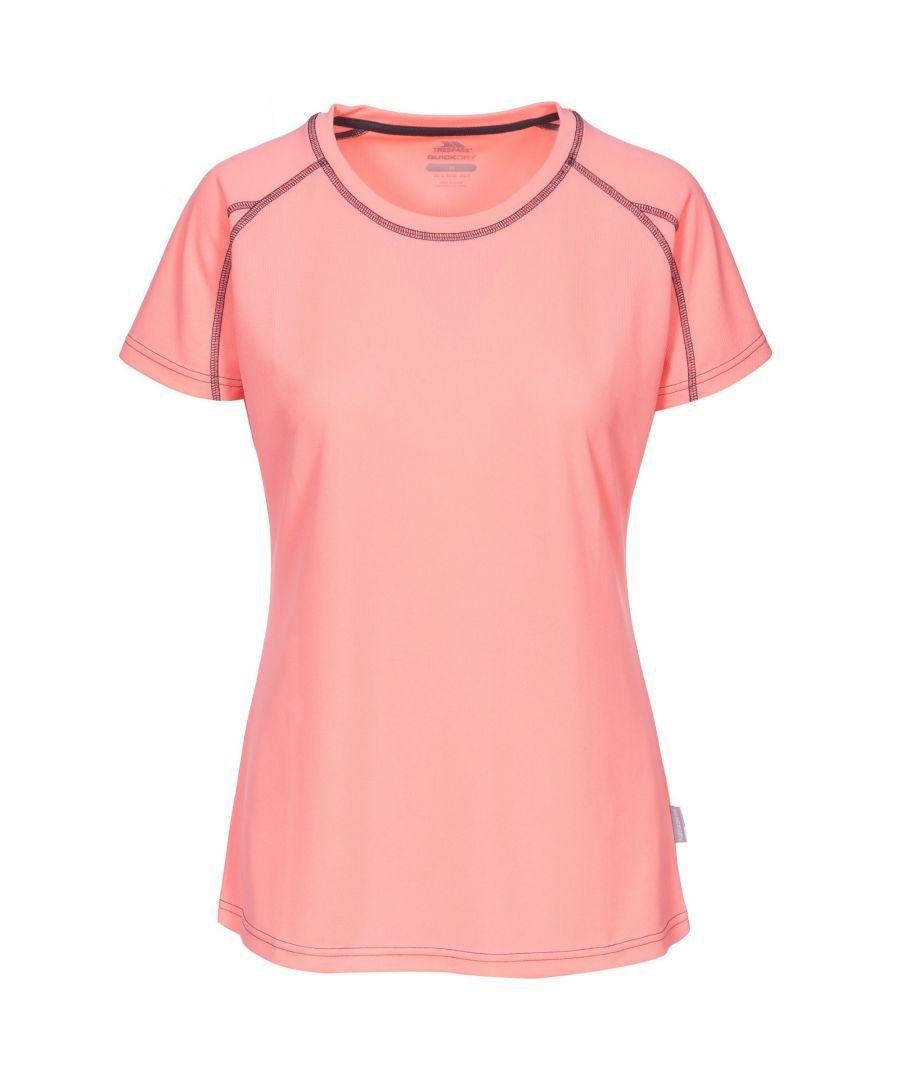 Image for Trespass Womens/Ladies Mamo Short Sleeve Active T-Shirt