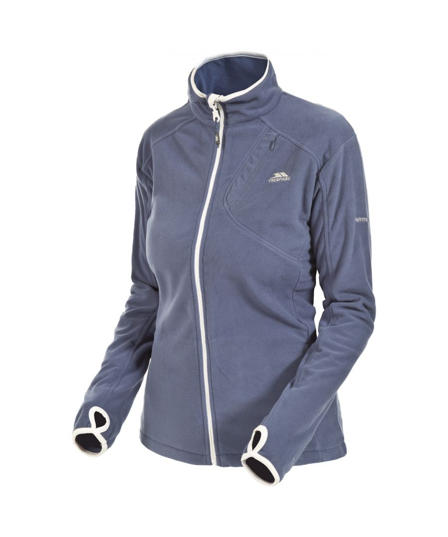 Image for Trespass Womens/Ladies Saskia Full Zip Fleece Jacket