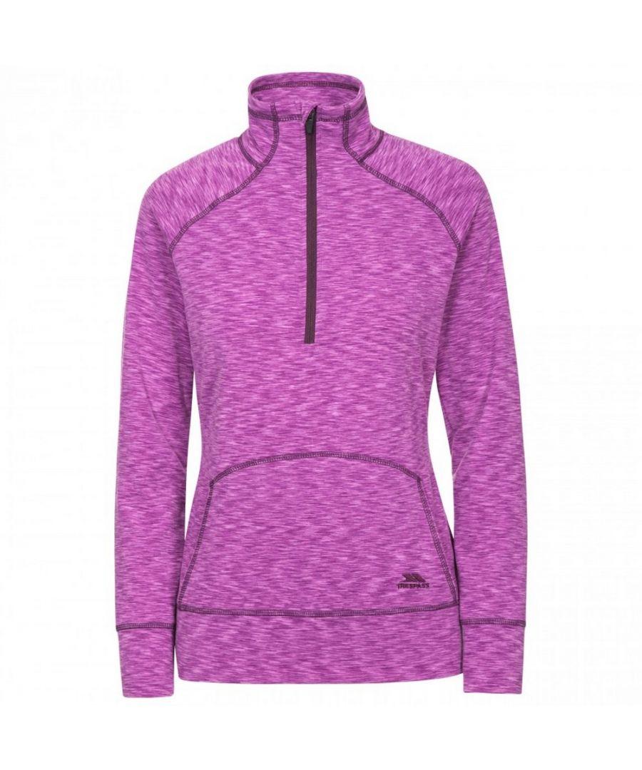 Image for Trespass Womens/Ladies Moxie Half Zip Fleece Top