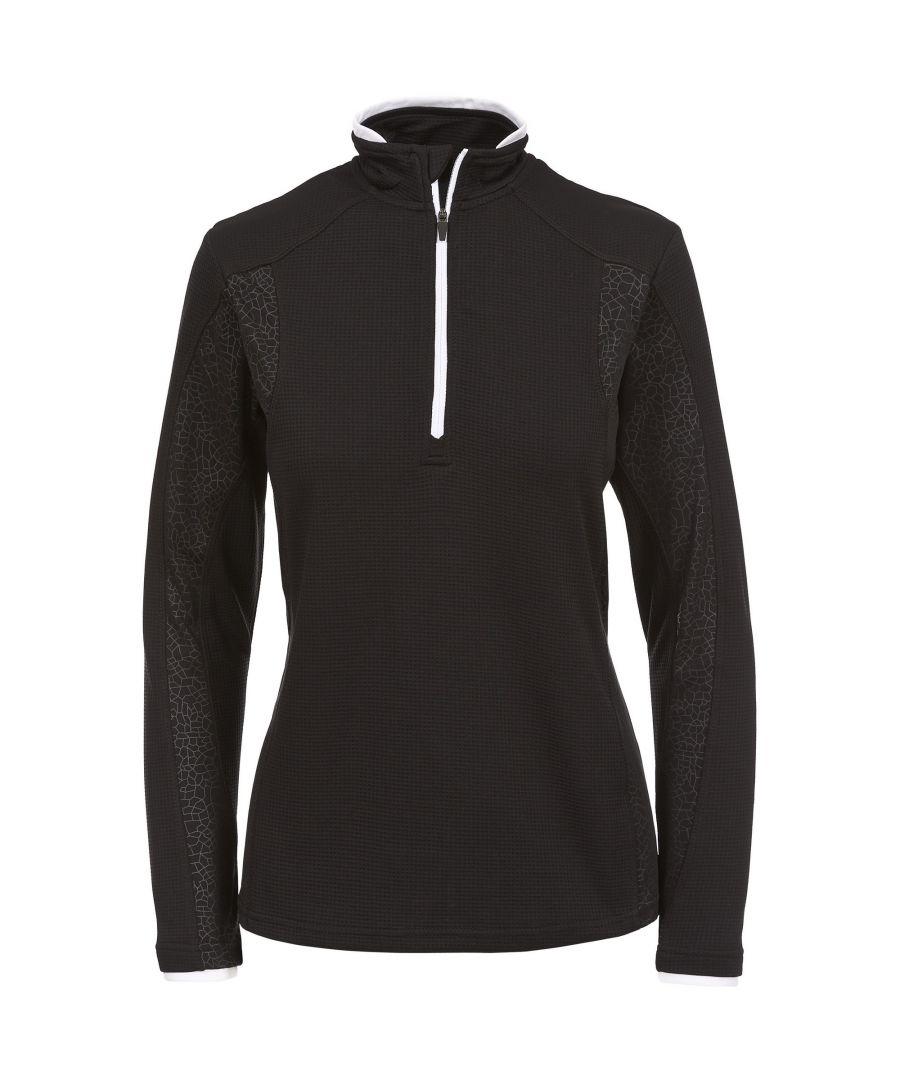 Image for Trespass Womens/Ladies Ollog Half Zip Active Sports Top