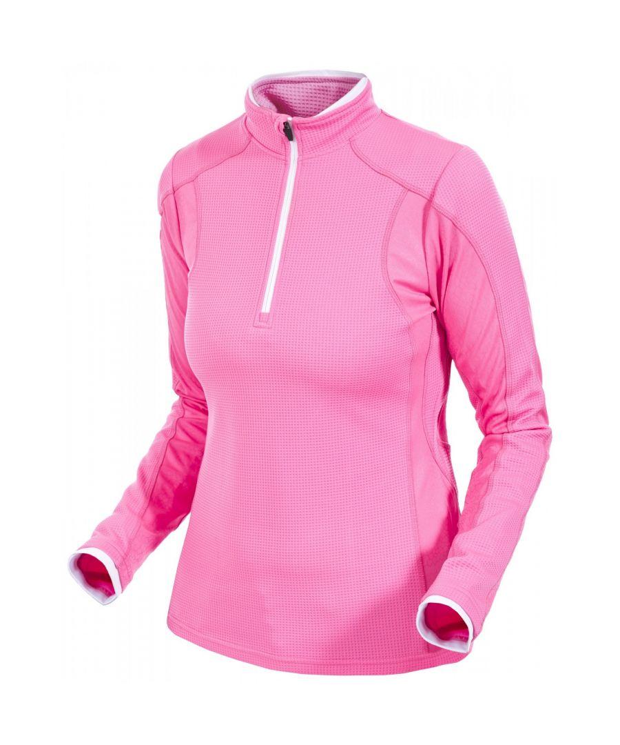 Image for Trespass Womens/Ladies Ollog Half Zip Active Sports Top
