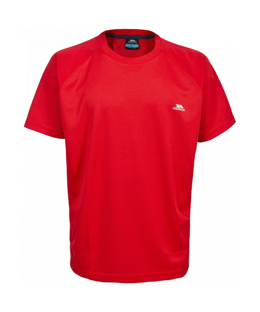 Image for Trespass Mens Debase Short Sleeve Active T-Shirt