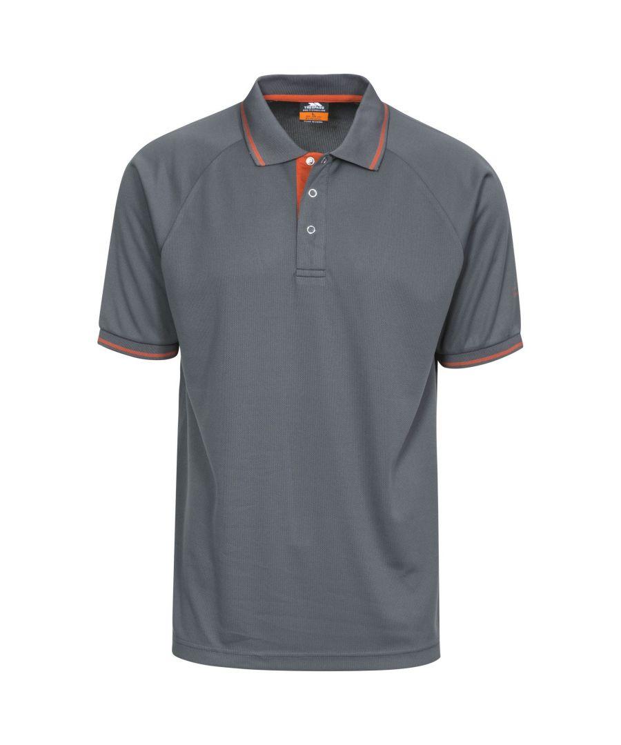 Image for Trespass Mens Bonington Short Sleeve Active Polo Shirt