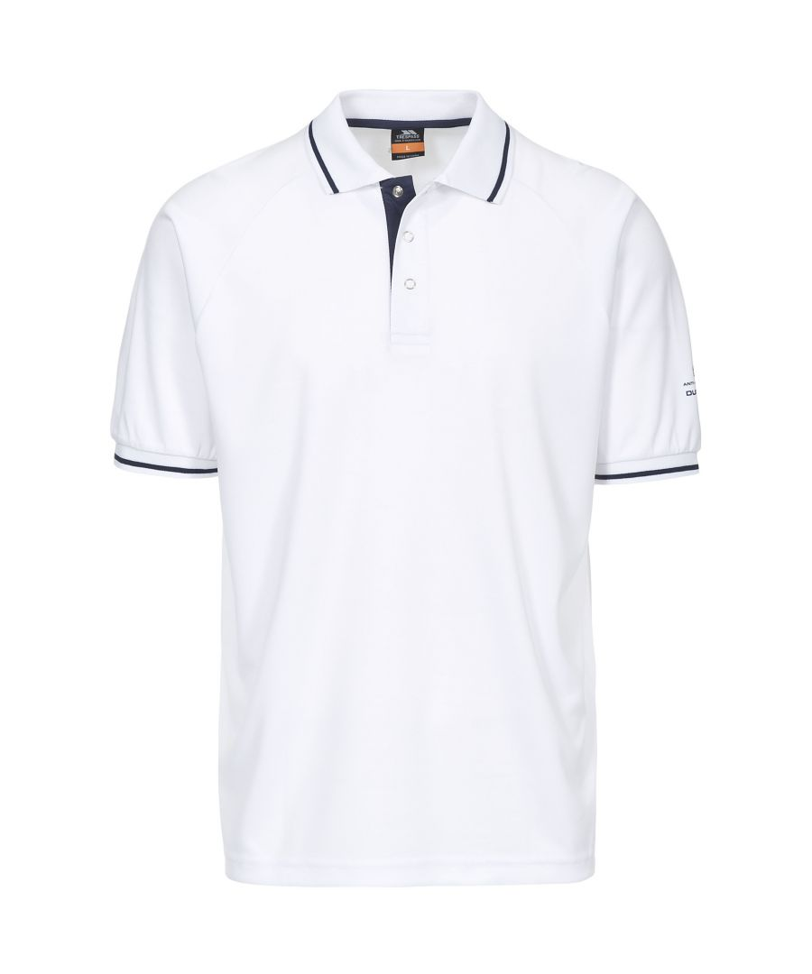 Image for Trespass Mens Bonington Short Sleeve Active Polo Shirt