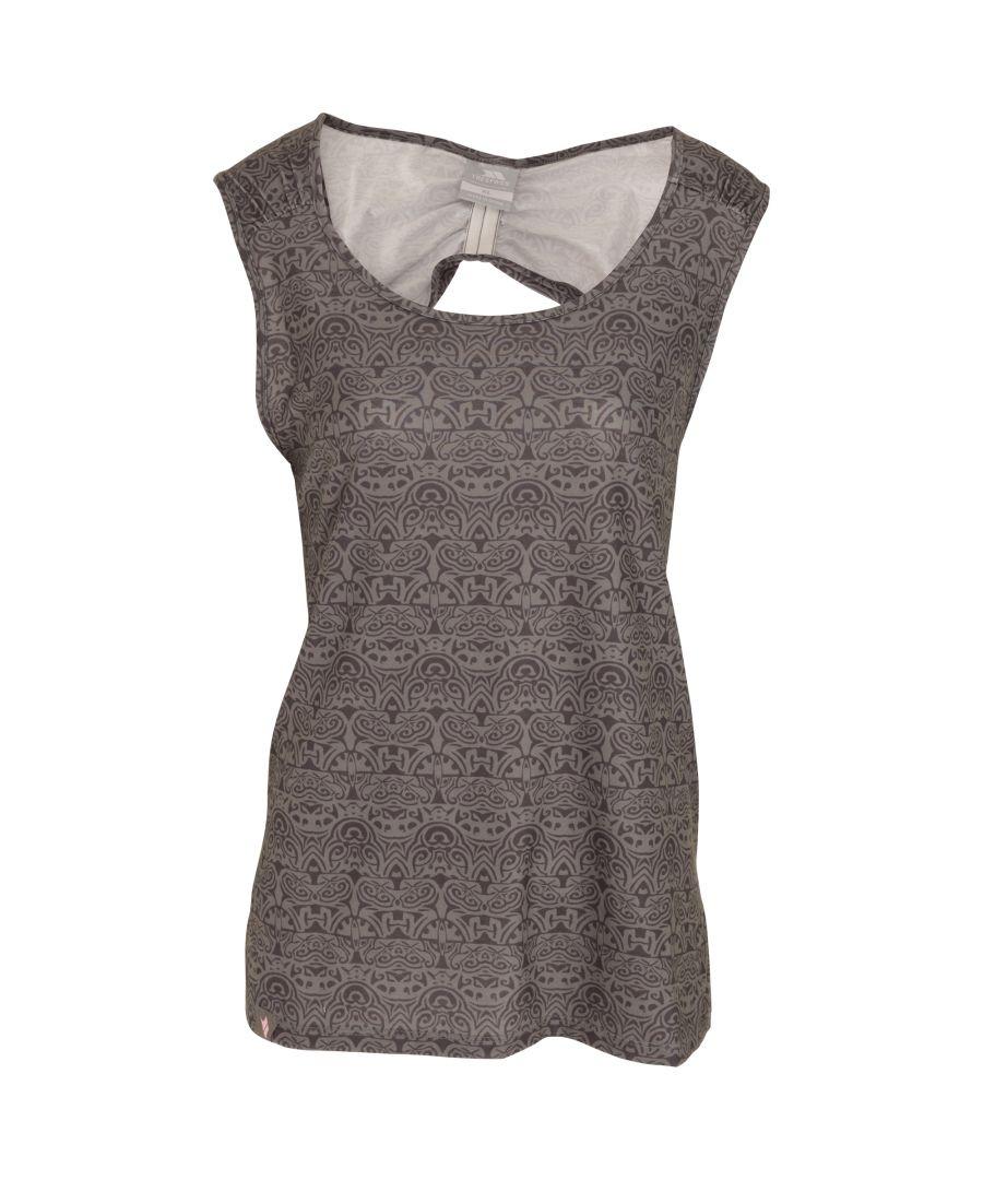 Image for Trespass Womens/Ladies Ono Adventure Sleeveless Vest Top With Round Neck