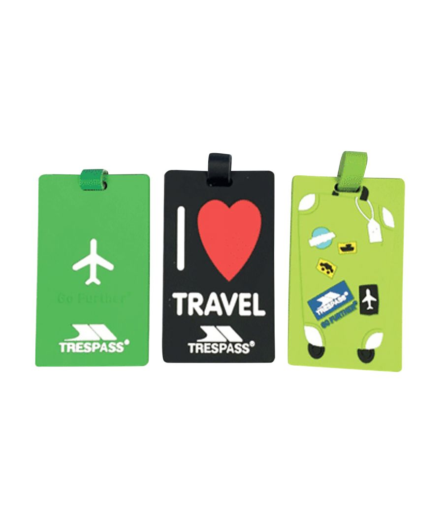 Image for Trespass Traveltag 2016 Luggage Tags (Multi)
