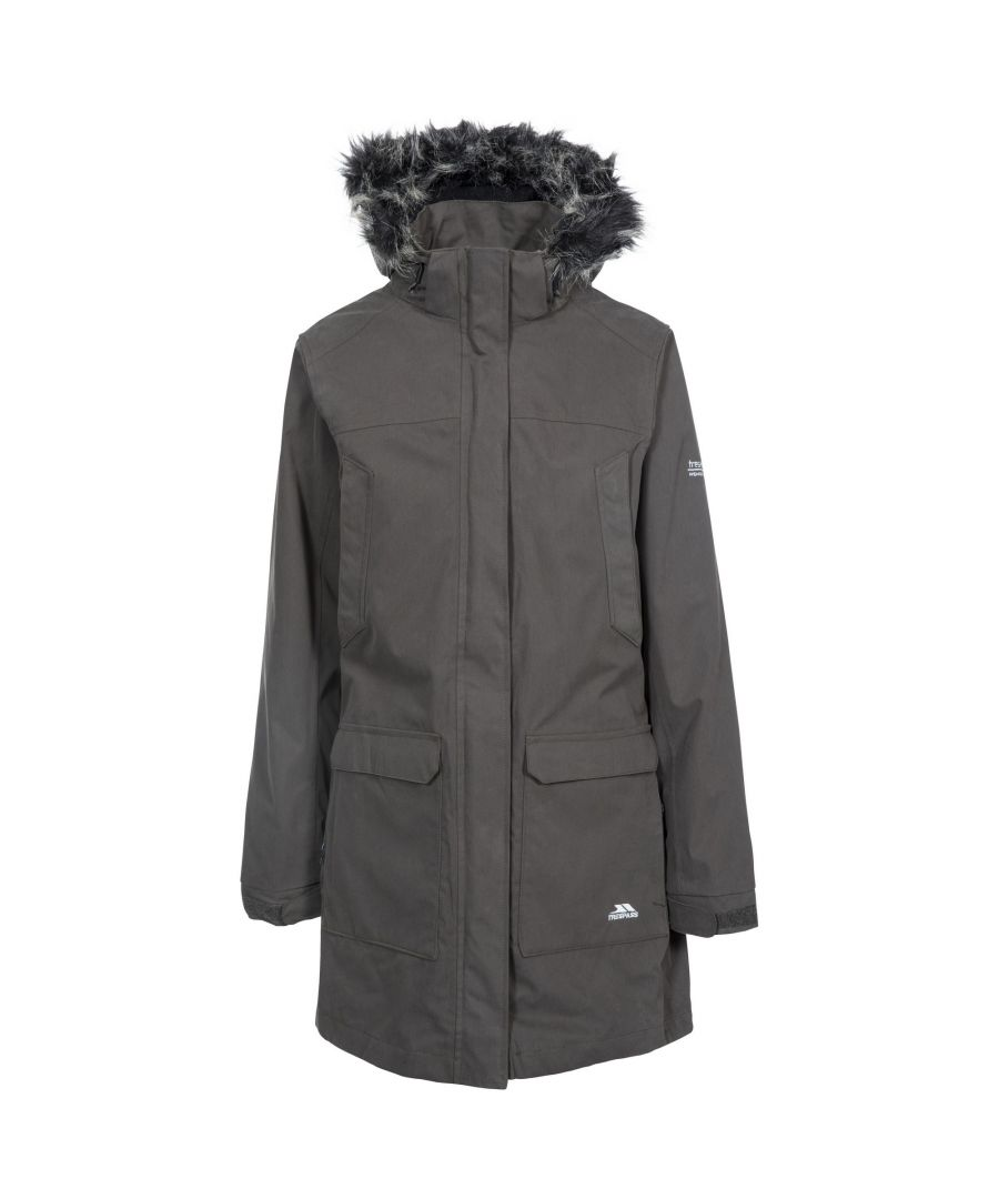 Image for Trespass Womens/Ladies Maebell 3 In 1 Parka Waterproof Jacket