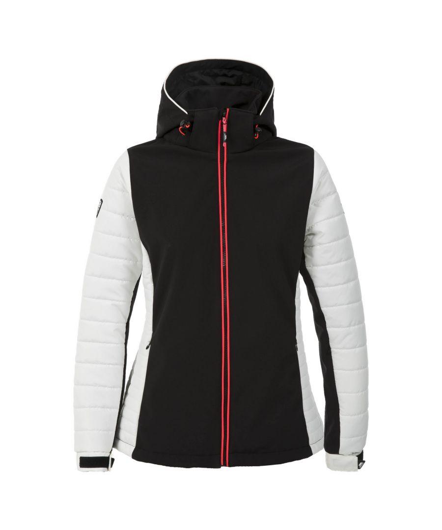 Image for Trespass Womens/Ladies Focus Padded Ski Jacket (Black)