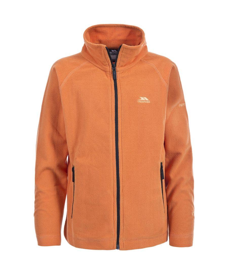 Image for Trespass Childrens Boys Wayne Full Zip Fleece Jacket (Carrot)