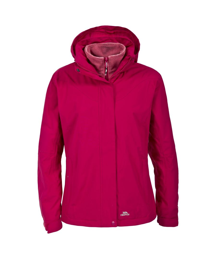 Image for Trespass Womens/Ladies Madalin Waterproof 3-In-1 Jacket
