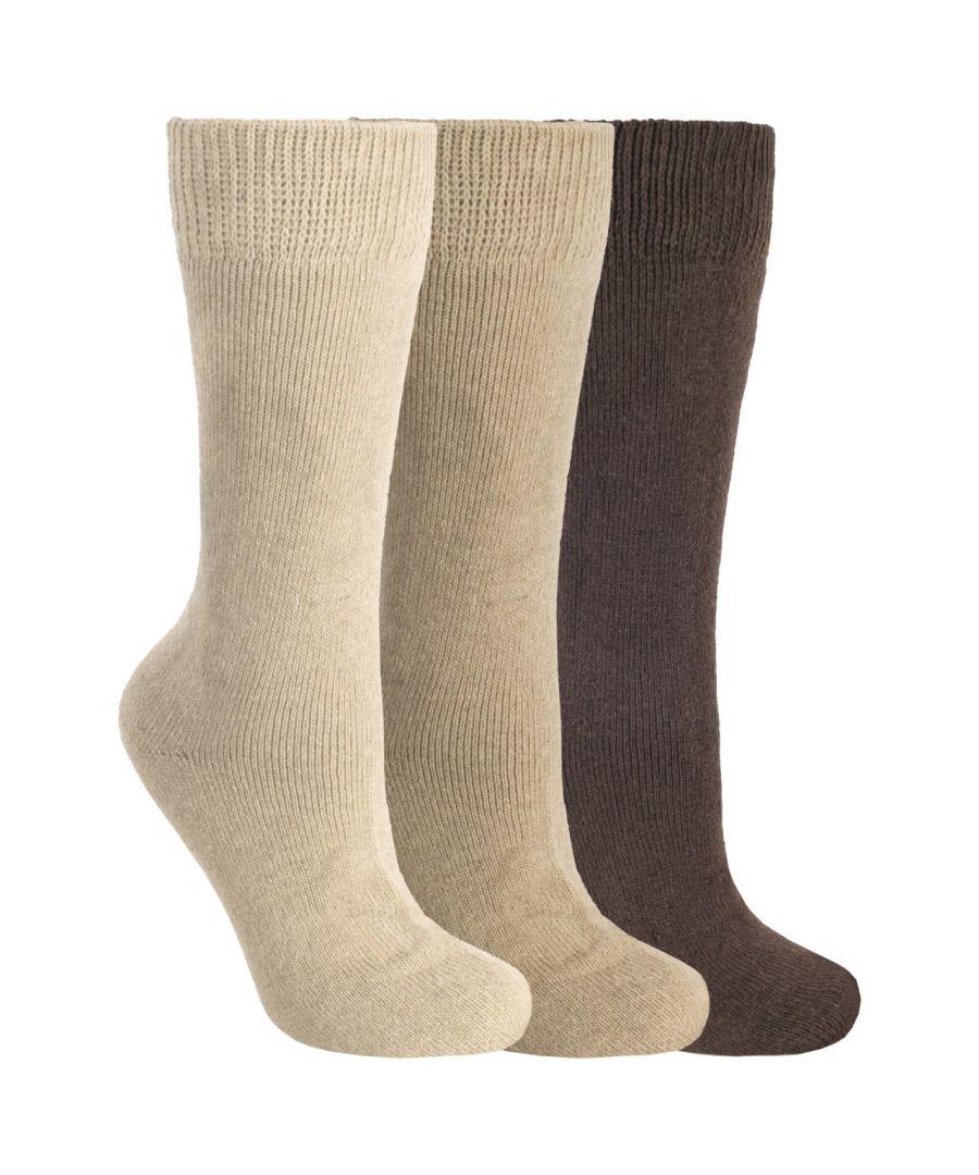 Image for Trespass Sliced Mens Plain Casual Socks (Pack Of 3) - ASRTD