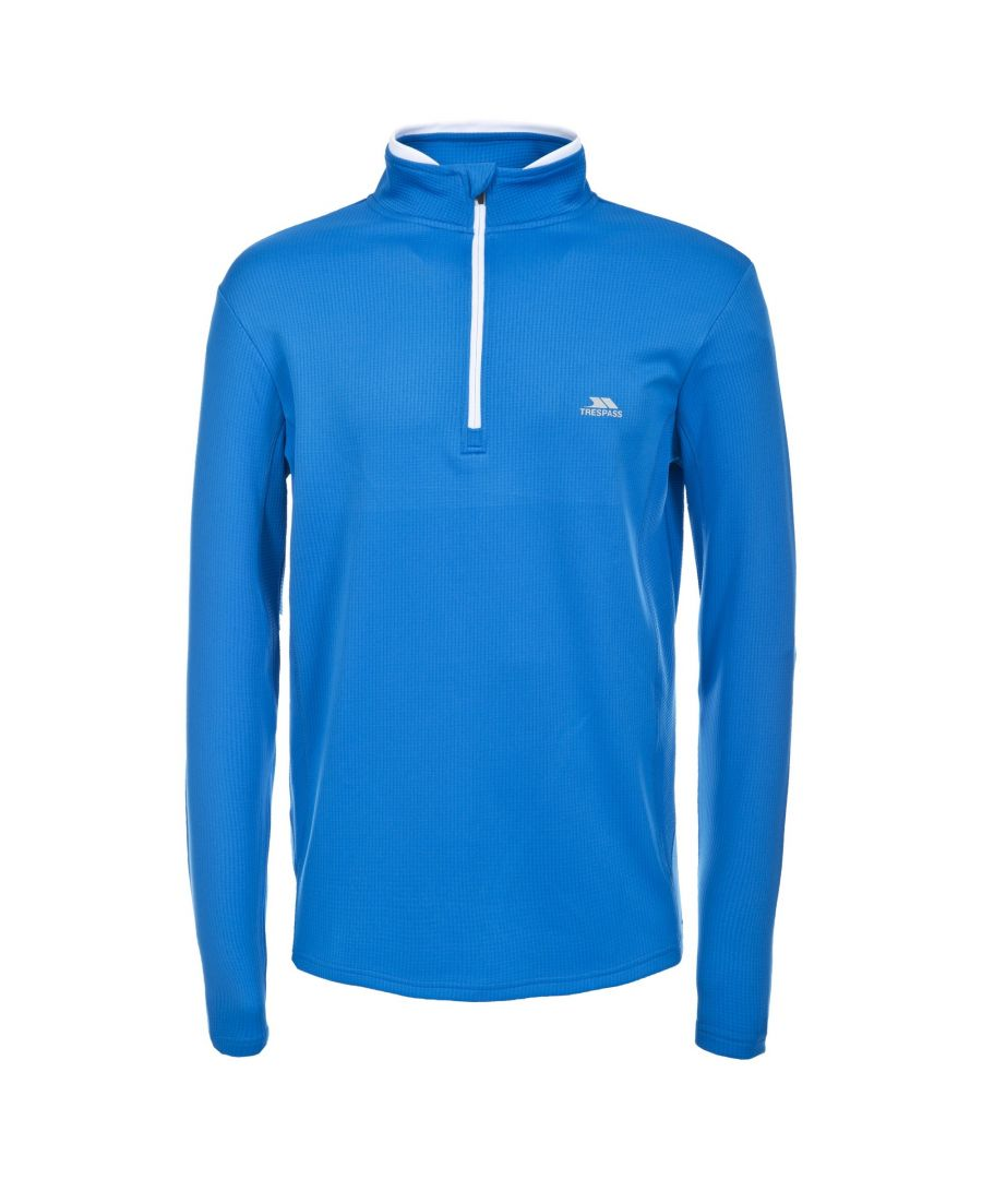 Image for Trespass Mens Ronson Quick Dry Long Sleeve Active Top