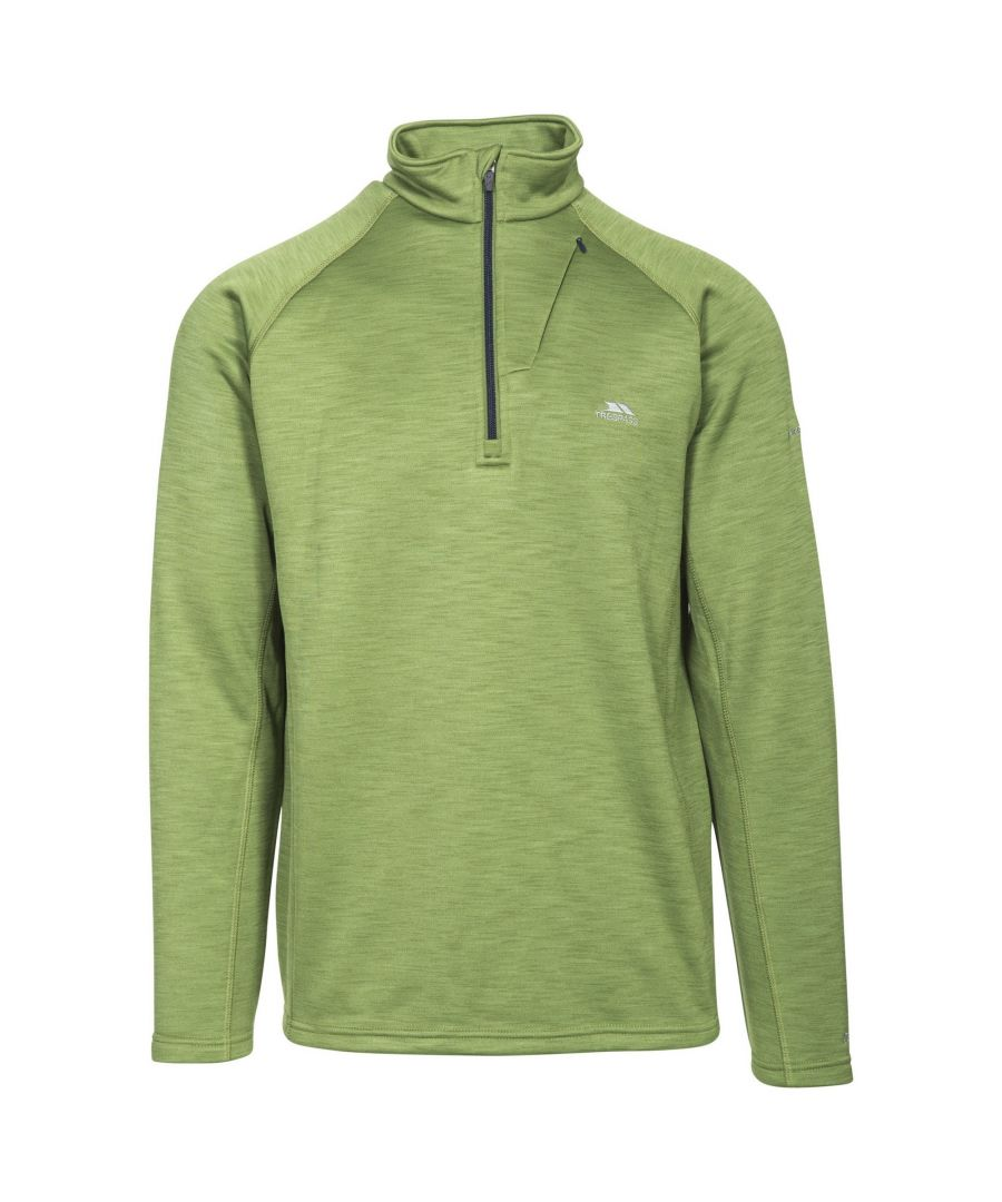 Image for Trespass Mens Collins Half Zip Fleece Top